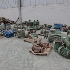 Desmantelamiento selectivo en la Planta de Gestamp Automoción en Dueñas (Palencia)