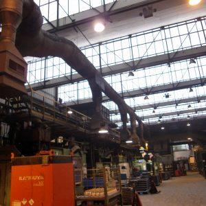 Desmantelamiento selectivo equipos varios en las instalaciones de Fagor Ederlan Eskoriatza
