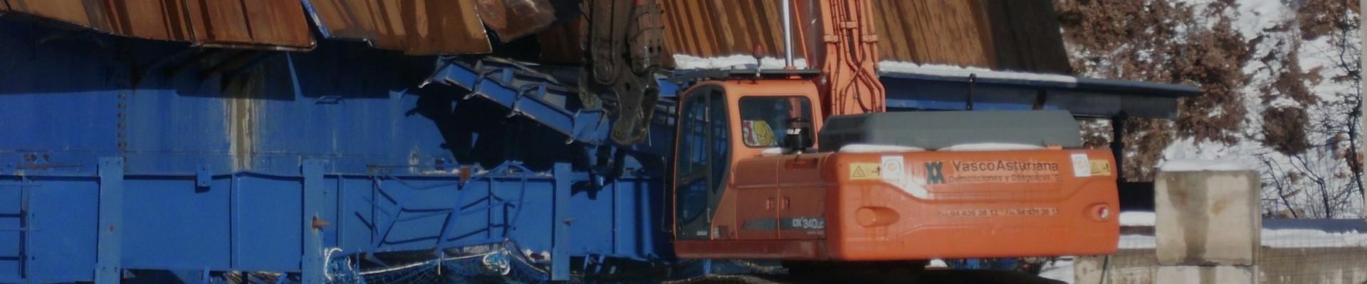Vasco Asturiana. Expertos en desmantelamientos industriales